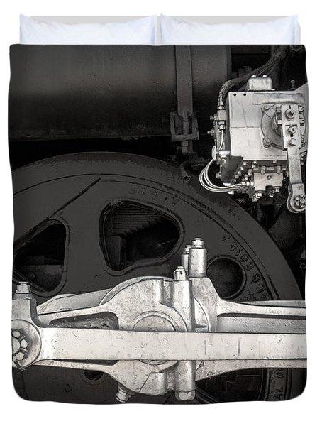 Locomotive No. 3424 Duvet Cover