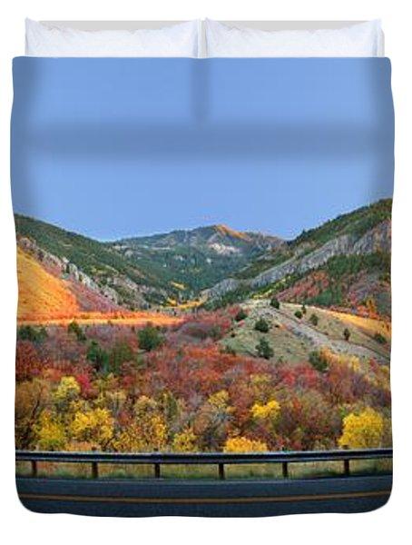 Logan Canyon Duvet Cover