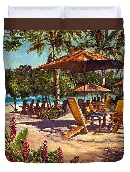 Lola's In Costa Rica Duvet Cover