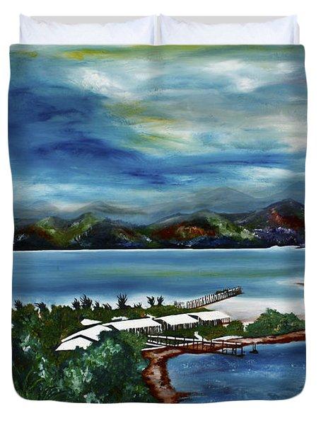 Loloata Island Duvet Cover