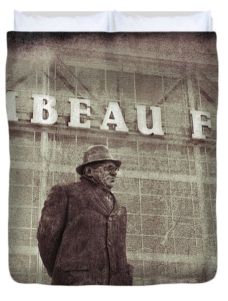 Lombardi At Lambeau Duvet Cover