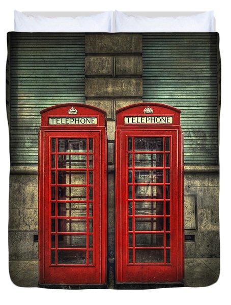 London Calling Duvet Cover