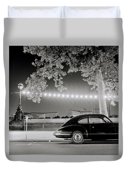 Classic London Duvet Cover