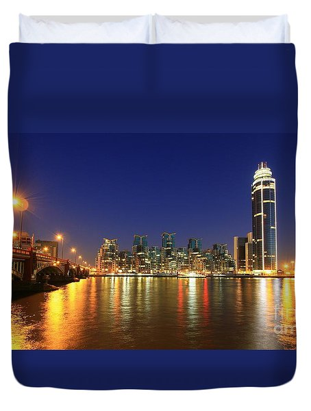 London Night Duvet Cover