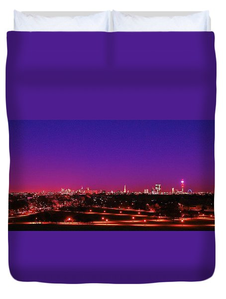 London View 1 Duvet Cover