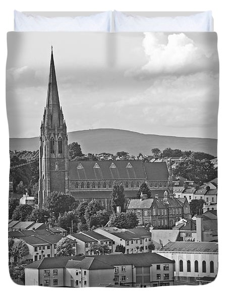 Londonderry Duvet Cover by Mary Carol Story