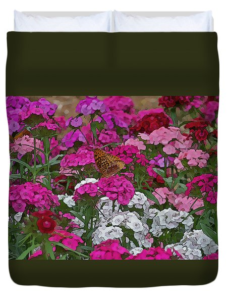 Lone Butterfly Duvet Cover