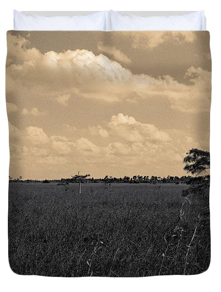 Lone Cypress II Duvet Cover