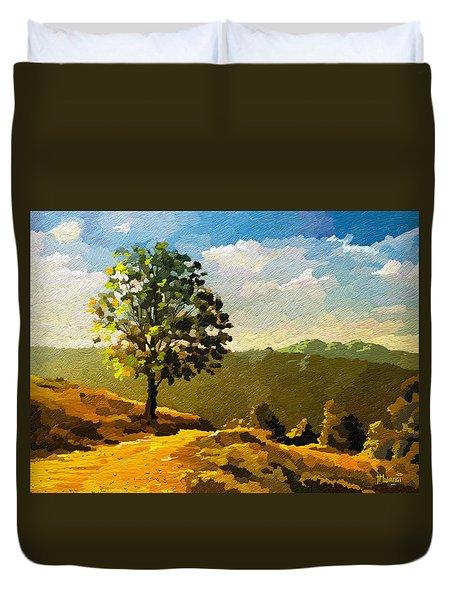 Lone Ranger Duvet Cover by Anthony Mwangi