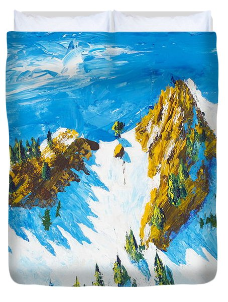 Lone Tree 1 Duvet Cover