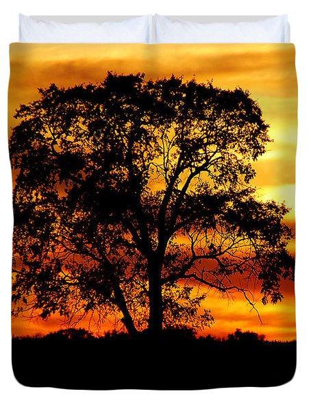 Lone Tree Duvet Cover