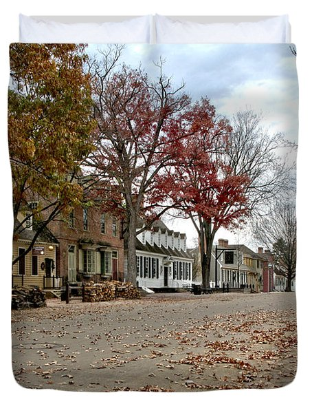 Lonely Colonial Williamsburg Duvet Cover
