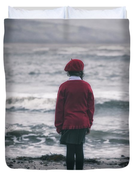 Lonely Duvet Cover by Joana Kruse