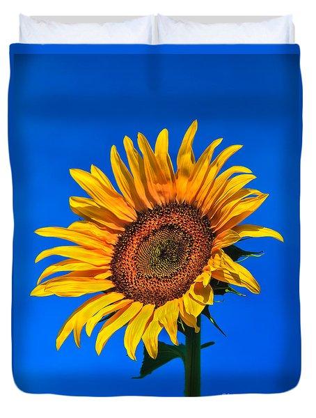 Lonely Sunflower Duvet Cover