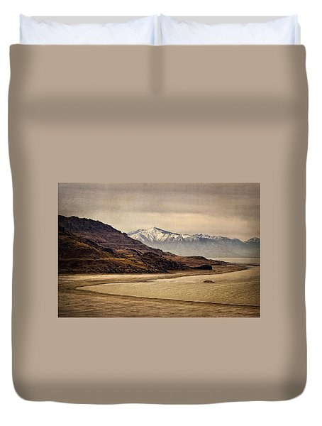 Lonesome Land Duvet Cover by Priscilla Burgers
