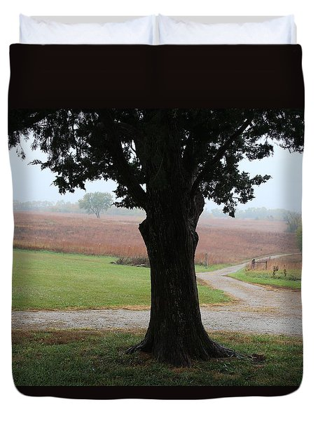 Duvet Cover featuring the photograph Long Ago And Far Away by Elizabeth Sullivan