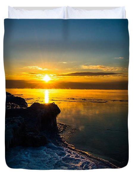 Long Cold Winter II Duvet Cover