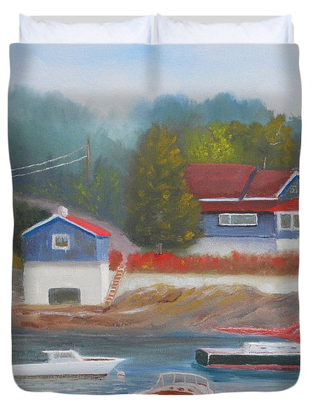 Long Cove Duvet Cover