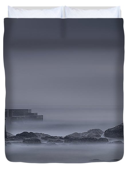 Long Exposure Foz Porto Duvet Cover