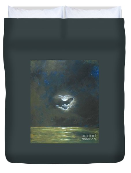 Long Journey Home Duvet Cover by Marlene Book