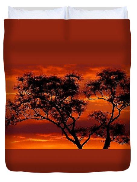 Long Leaf Pine Duvet Cover