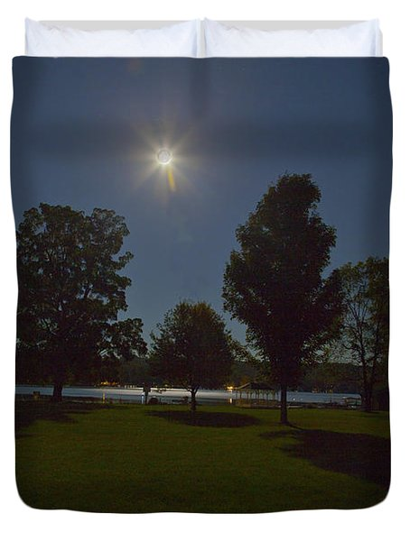 Night Shadows  Duvet Cover by Richard Engelbrecht