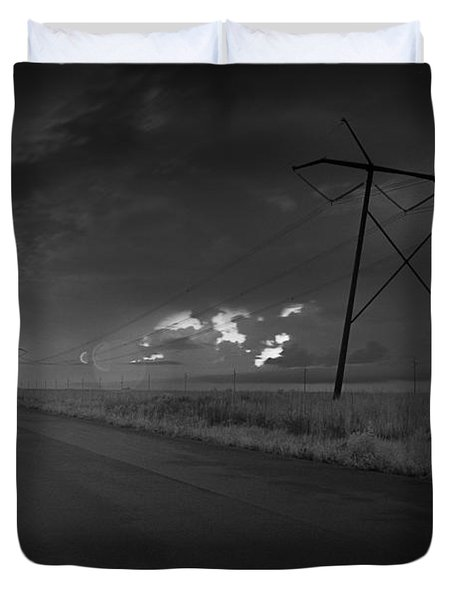 Long Road Home Duvet Cover by Bradley R Youngberg