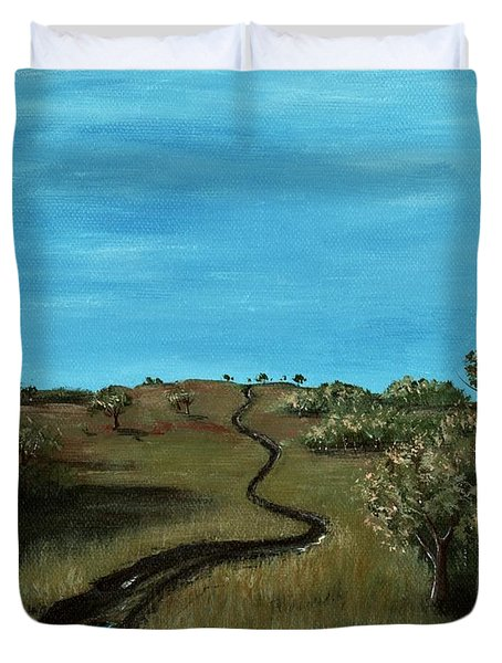 Long Trail Duvet Cover by Anastasiya Malakhova