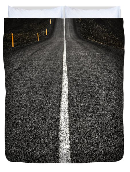 Long Way To Nowhere Duvet Cover