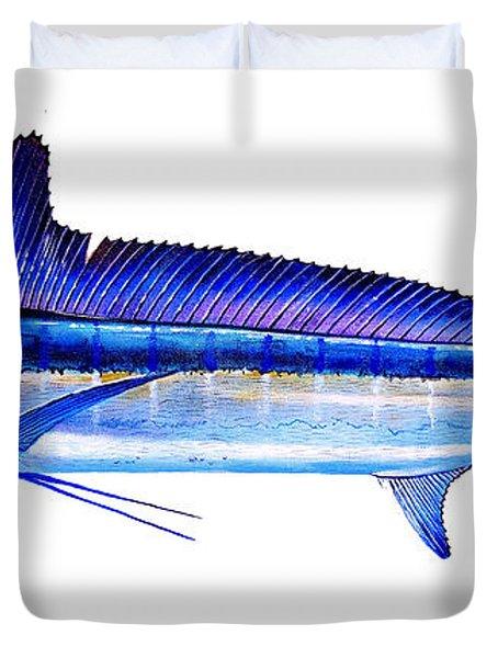 Longbill Spearfish Duvet Cover
