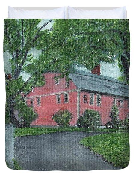 Longfellow's Wayside Inn Duvet Cover by Cliff Wilson