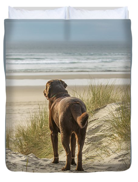 Longing Duvet Cover by Jean Noren