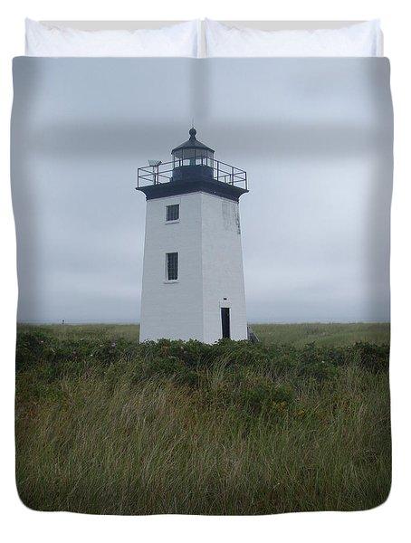 Longpoint Lighthouse Duvet Cover