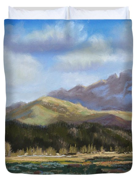 Long's Light Duvet Cover by Heather Coen