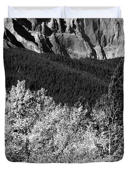 Longs Peak 14256 Ft Duvet Cover