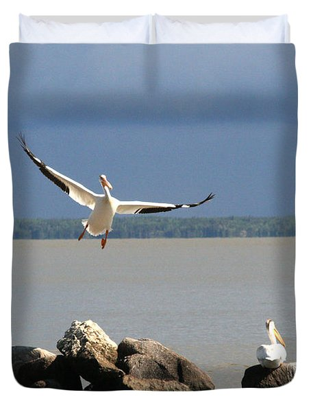 Look Ma - I Can Fly Duvet Cover
