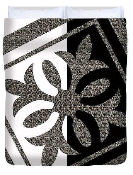 Looking For Balance Duvet Cover by Georgeta Blanaru