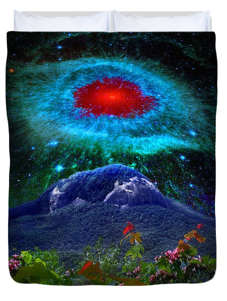 Looking Glass Rock Event 1 Duvet Cover
