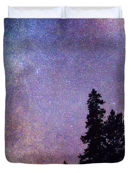 Looking Into The Heavens Duvet Cover by James BO  Insogna