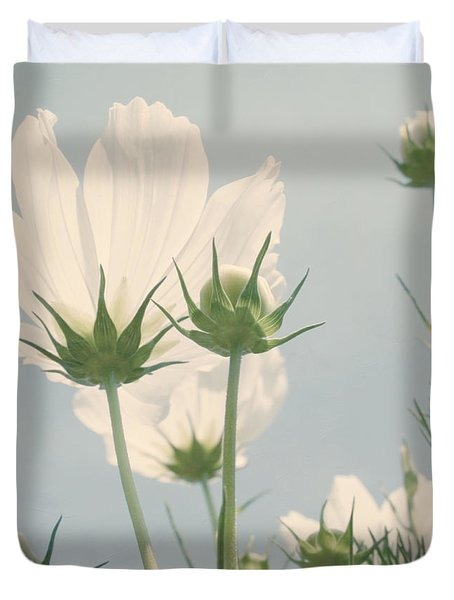Looking Up Duvet Cover by Kim Hojnacki