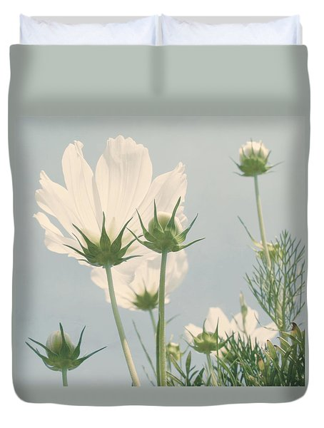 Looking Up Duvet Cover