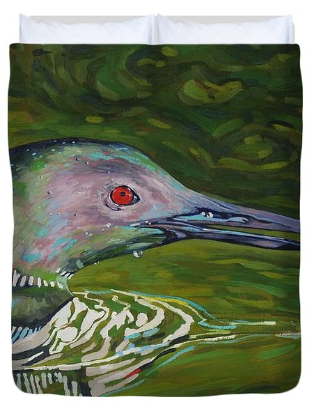 Loon Lunch Duvet Cover