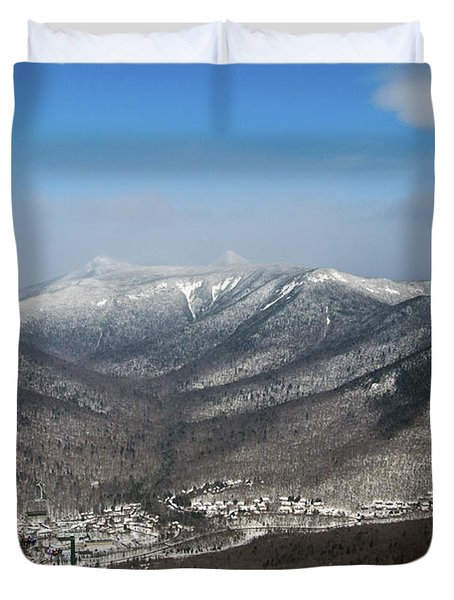 Loon Mountain Ski Resort White Mountains Lincoln Nh Duvet Cover