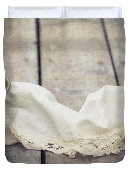 Loosely Draped Duvet Cover by Priska Wettstein