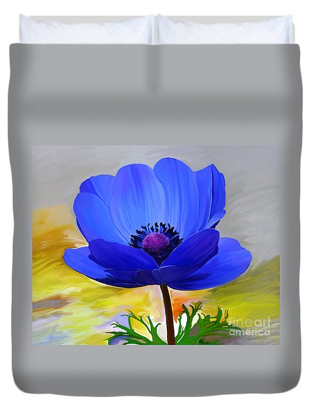 Duvet Cover featuring the painting Lord Lieutenant by Patricia Griffin Brett
