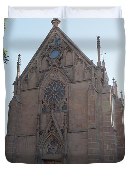 Loreto Chapel Duvet Cover