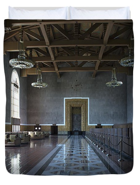 Los Angeles Union Station - Custom Duvet Cover