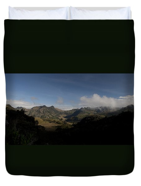 Los Nevados Natural Park Central Andes Colombia Duvet Cover