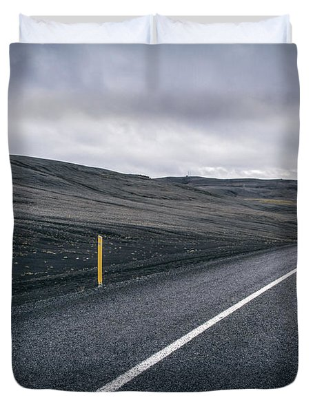 Lost Highway Duvet Cover