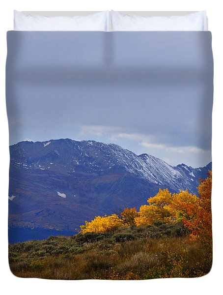 Lost In Autumn Duvet Cover by Jeremy Rhoades